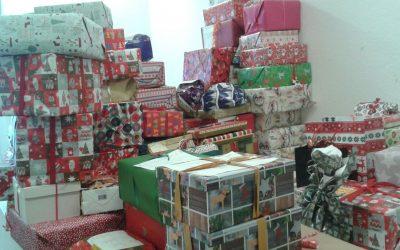 Unsere Päckchenaktion zu Weihnachten