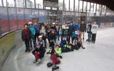Eislaufen der Klasse 5b