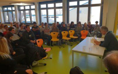 Ilja Trojanow zu Gast am Leibniz-Gymnasium