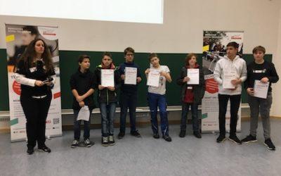 Erste Teilnahme am ZDI-Robotik-Wettbewerb