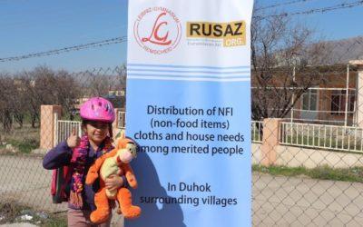 Flüchtlingshilfe im Irak
